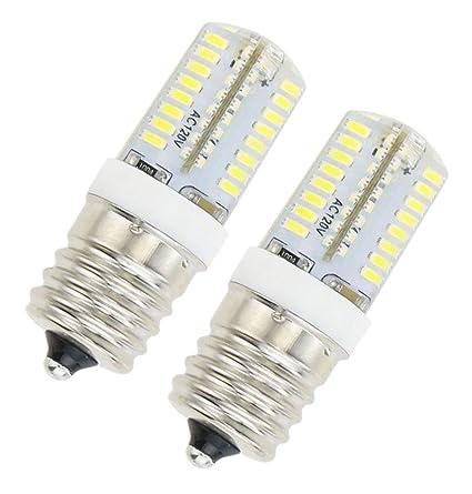 Lamsky E17 - Bombilla LED regulable para horno de microondas, 3,5 ...