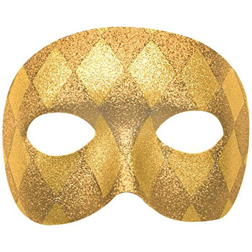 Harlequin Domino Party Mask, 3