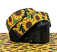 Camera Strap, Sunflower dSLR SLR Mirrorless 310