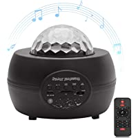 Galaxy Star Projector, Bluetooth Music Speaker with Night Light Projector & Remote Control for Bedroom/Party/Home Decor…