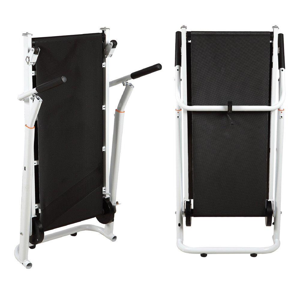 Artist Hand Folding Manual Treadmill Incline Home Gym Maching Cardio Stride Fitness Walking Workouts with Twin Flywheels No Monitor Required by Artist Hand (Image #7)