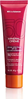 product image for MDSolar Sciences Mineral Crème SPF 50   Oil-Free, Water-Resistant Lightweight Mineral Broad Spectrum SPF, Absorbs Instantly, Invisible Matte Finish