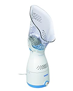 Vicks Personal Sinus Steam Inhaler Face Steamer with Soft Face Mask