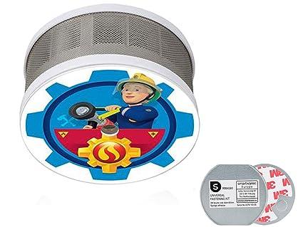 Detector de Humo Mini Set Bombero Sam con diseño Penny para la habitación, batería DE