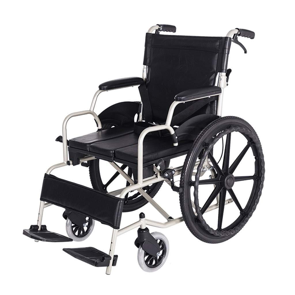 ★決算特価商品★ 車椅子ブレーキデザイン折りたたみ式ホームウォーカー (色 (色 : ブラック) ブラック ブラック) ブラック B07P8L9MBT, shopウィンクル:0e84f036 --- a0267596.xsph.ru