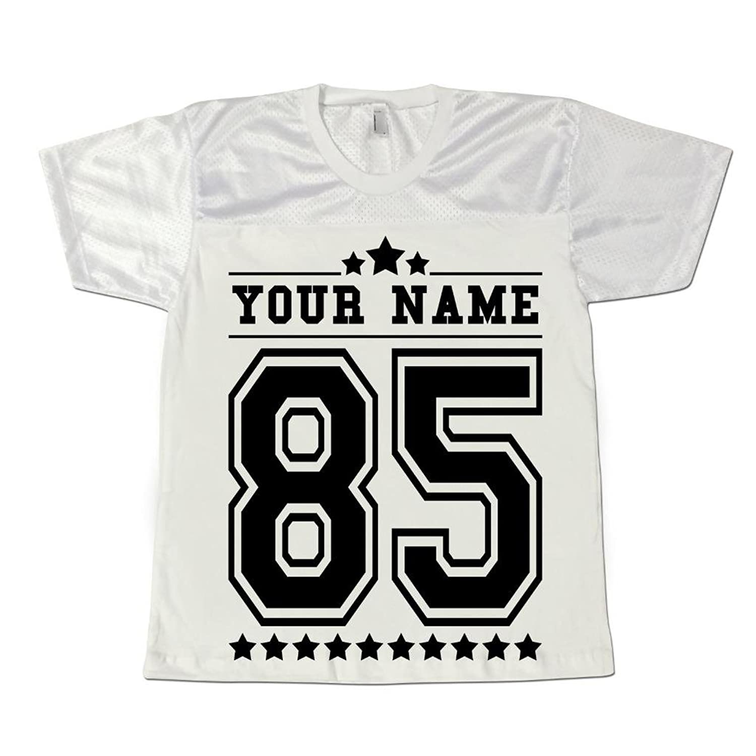 men u0027s personalised american football jersey shirt stag party