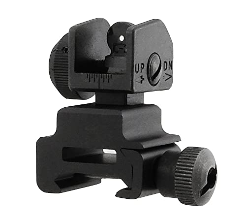 UTG Flip-up Rear Sight w
