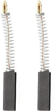 1 paio Hrsptudorc Spazzole carbone carboncini per motore elettrico 6x8x24mm