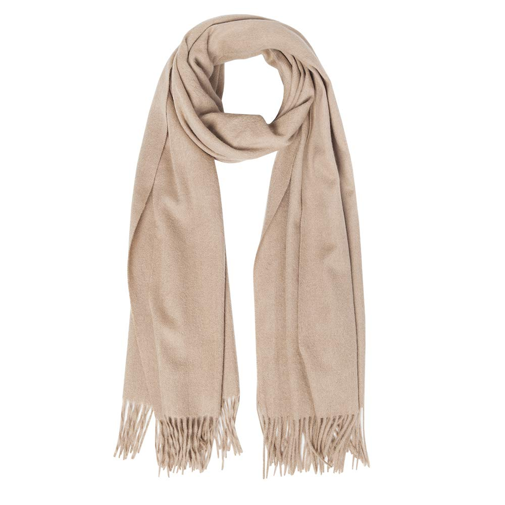 KAISIN 100% Wool Women Soft Shawl Ultra-Plush Comfort Largesize Blanket Scarf,Use For Home,Outdoor,Travel
