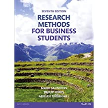 Research Methods for Business Students (7th Edition)