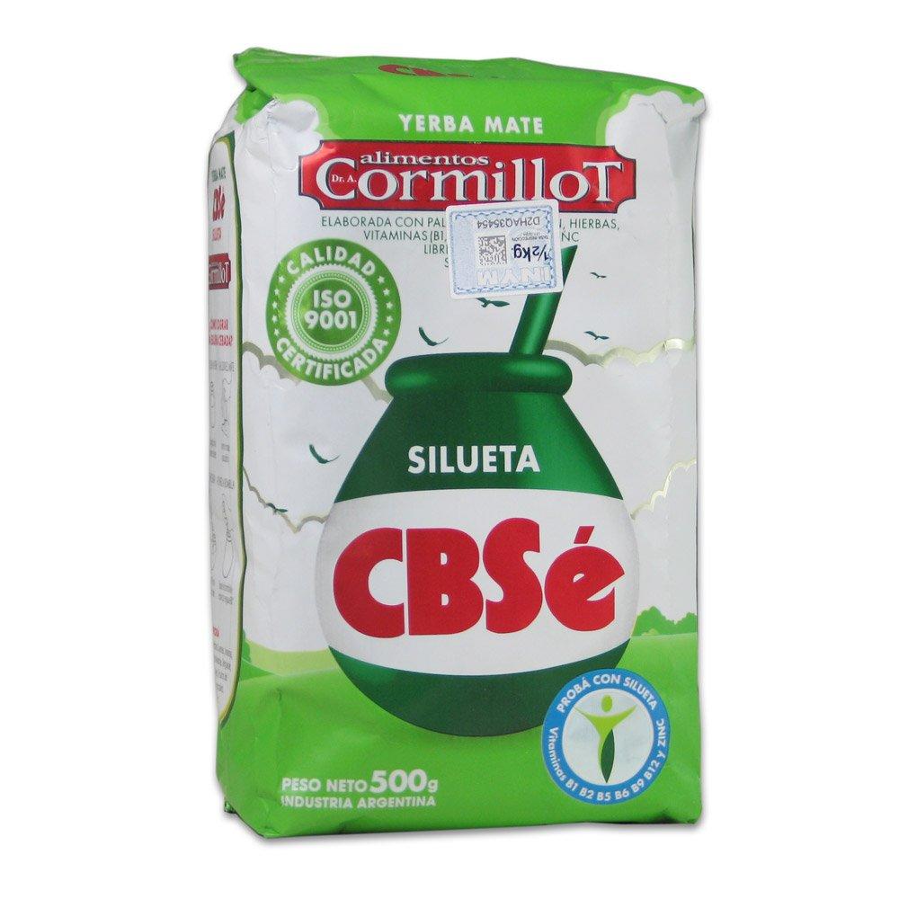 Amazon.com : 1.1 lbs CBSe Silueta Yerba Mate (500g) : Gourmet Food : Grocery & Gourmet Food