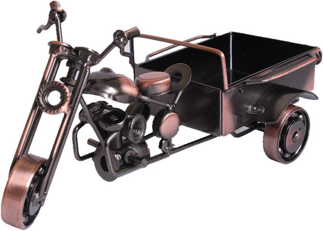 Hardworking bee Triciclo Creativo Modelo simulación Adornos Motocicleta Moderna de Tres Pisos Muebles para el hogar Sala de Estar Decoraciones Minimalistas