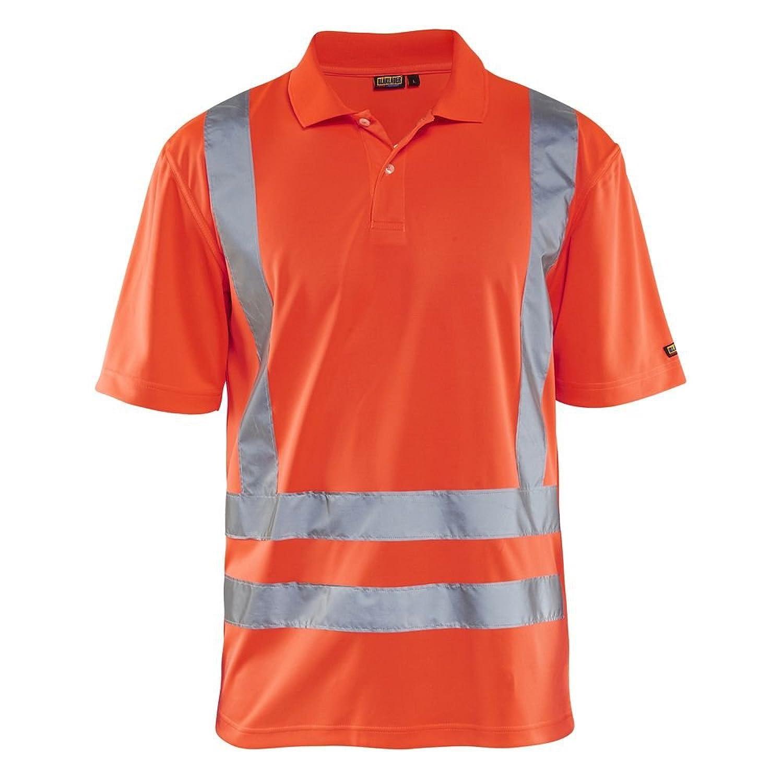 Blakläder Poloshirt Warnschutz Klasse 3 3310, Farbe:orange;Größe:XXL:  Amazon.de: Bekleidung