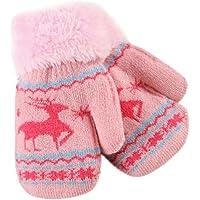 Niños Niños Invierno Cálido mitones fuibo Navidad cute