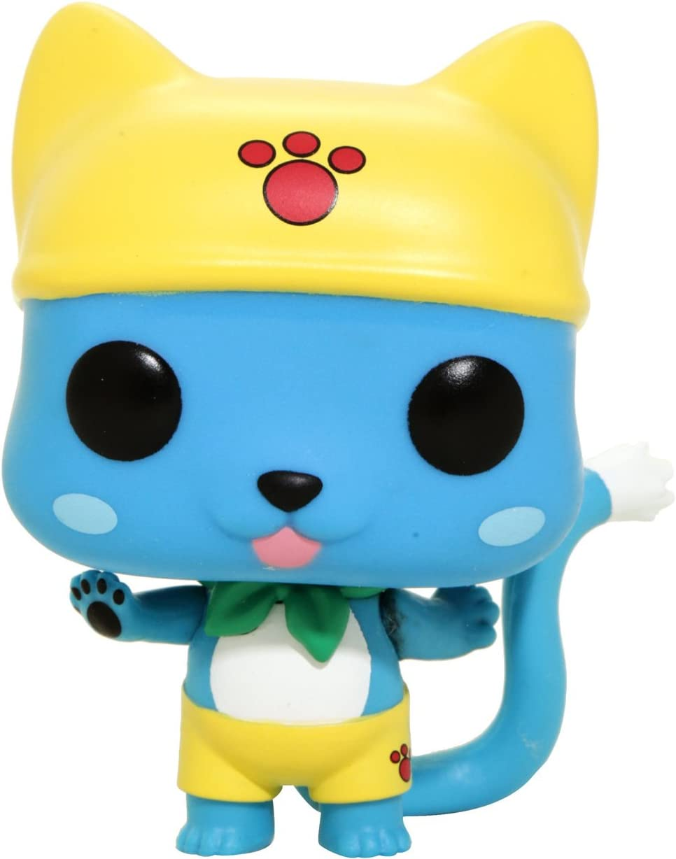 Animation Fairy Tail 286 Swim Time Happy Hot Topic Exclusive Figurine Funko POP