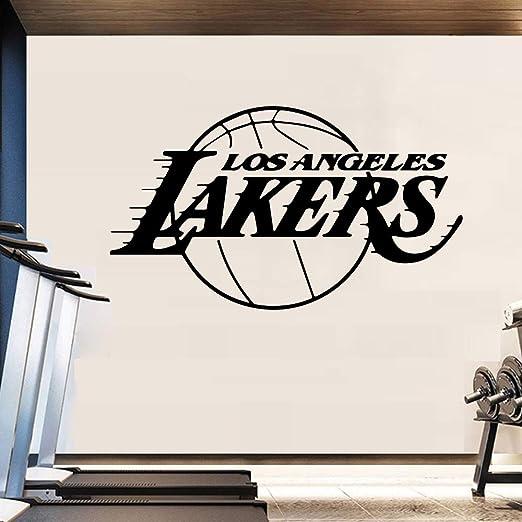 zxddzl Diseño del Equipo de Baloncesto Etiqueta de la Pared para ...