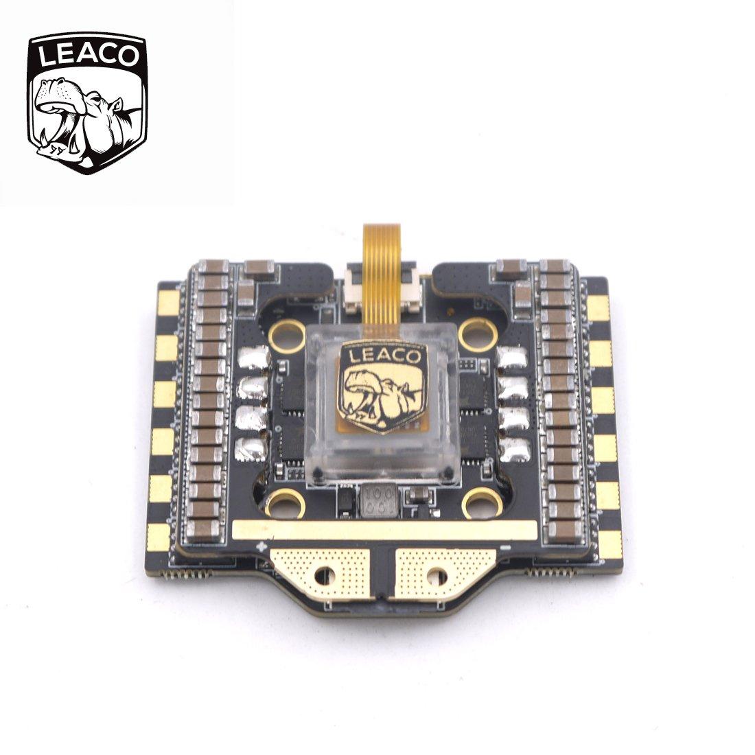 leaco Noxフライトコントローラーwith stm32 F411 MCU icm20608 MPU /ジャイロ(交換可能) 4 x 35 A BLHeli _ 32 ESC forクアッドコプターDrone B07BKYDH6K