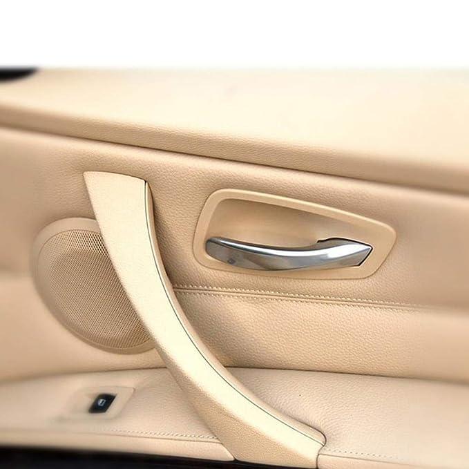 Lif/éUP Manija de la Puerta E90 manijas de la Puerta Mejora del Material 320 Soporte Interno del reposabrazos Interior para BMW Serie 3