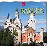 BAYERN - Heimat des Märchenkönigs Ludwig II. - Original Stürtz-Kalender 2017 - Mittelformat-Kalender 33 x 31 cm