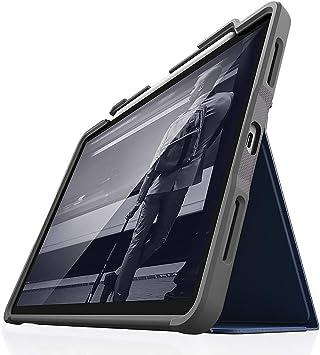 STM Dux Plus para Apple iPad Pro 12.9 Estuche (2018 3ra generación) con almacenamiento Apple Pencil, Ultra-protector Military-Spec 810G Requisito de prueba de caída, Sleep / Wake Smart -Azul: Amazon.es: Electrónica