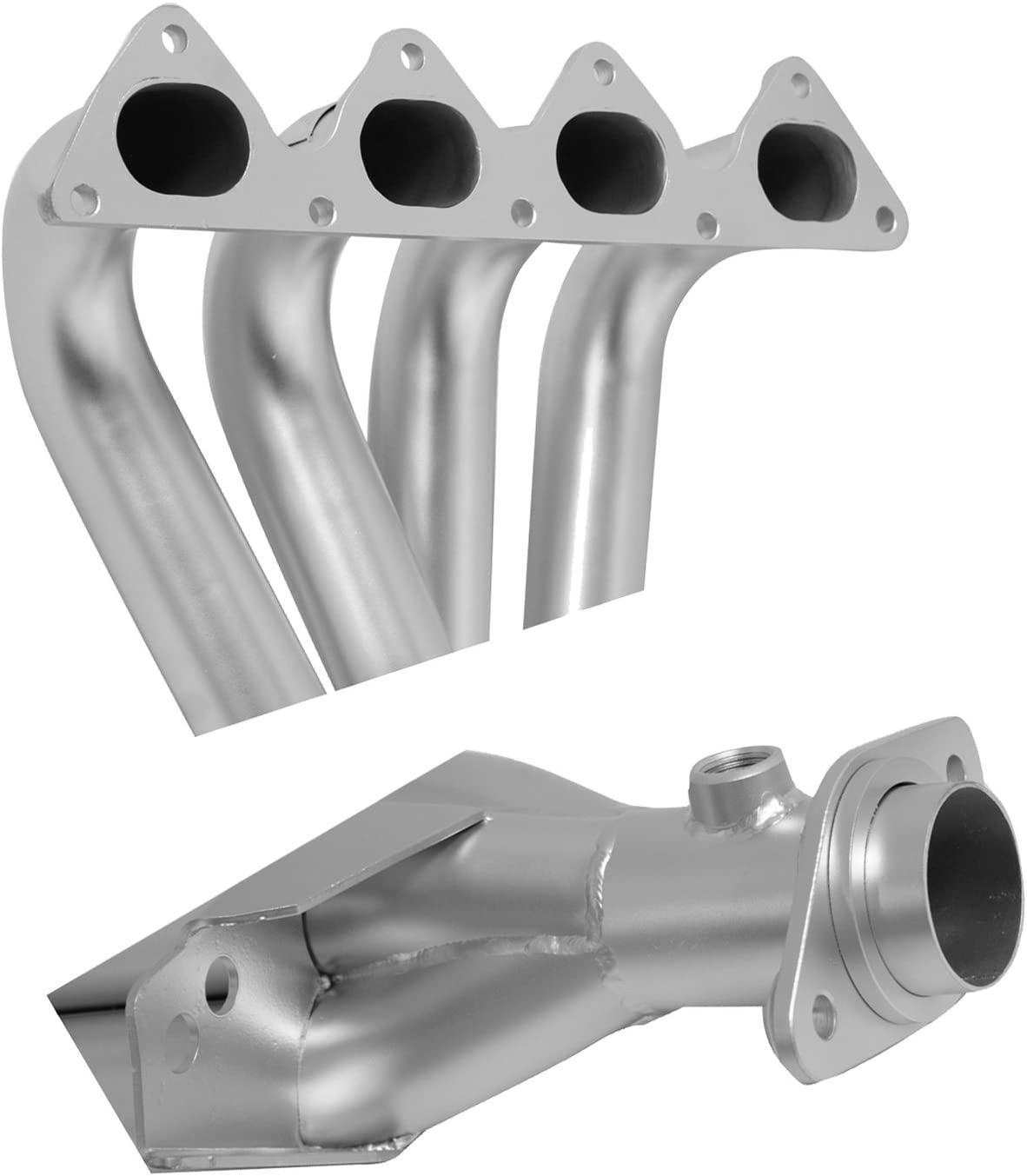 DC Sports AHC6606 Acura Integra RS//LS//GS 4-1 Header with Ceramic Coating Silver