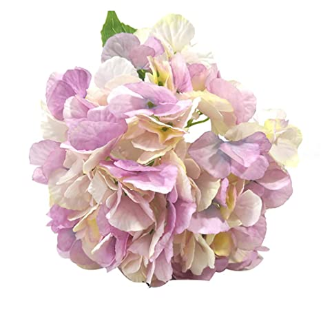 Xdised9xsmao 1 Unid Hortensia Artificial Casi Natural Flor