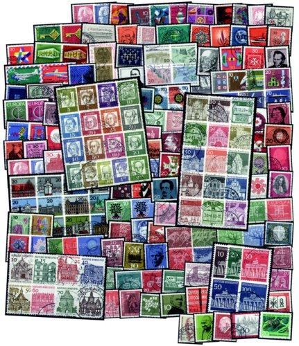 """Goldhahn BRD """"60er-Jahre"""" gestempelt Briefmarken für Sammler"""