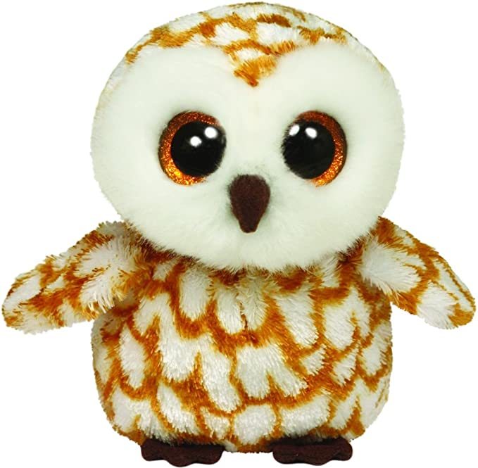 TY SET OF 3 SWOOPS BROWN OWL BEANIE BOOS-NEW MINT TAGS-LOVES TO PLAY TAG