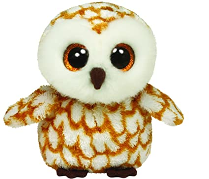 Amazon.com  Ty Beanie Boos Swoops Brown Barn Owl Plush  Toys   Games 1d21507397c