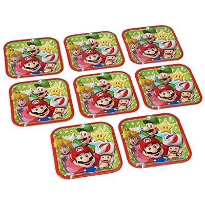 Super Mario Brothers Square Plates, 7