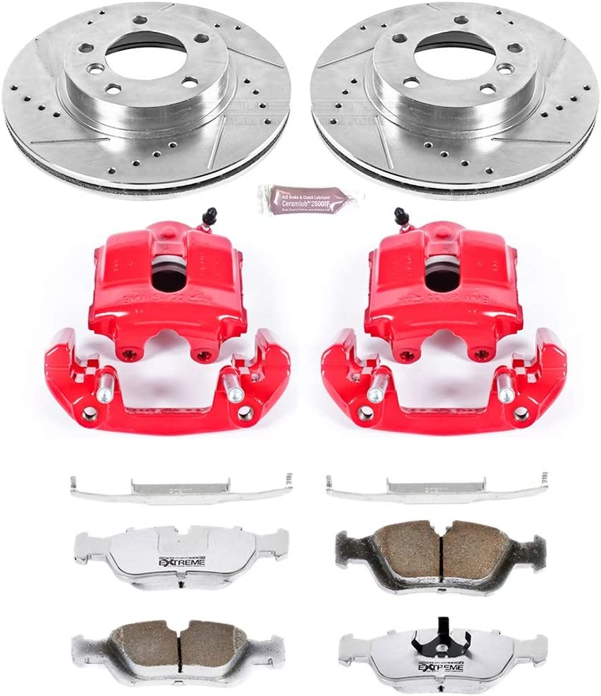 Power Stop KC497-26 Front Z26 Street Warrior Brake Kit BMW