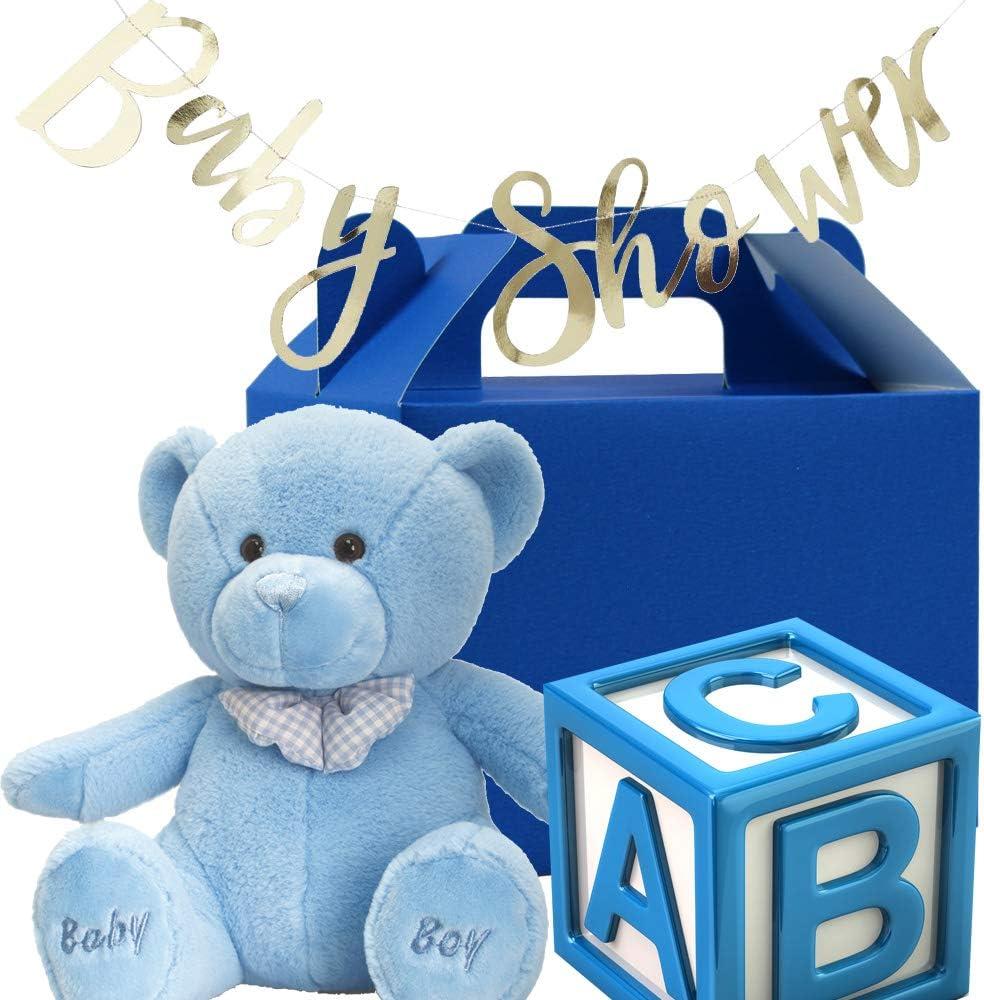 12 Cajas de cumplea/ños Colores Arco/íris Manualidades Fiestas Ni/ños Cajas Regalo Personalizadas para Baby Shower Cajas Galletas Stomping Ground Toys Cajas para Dulces