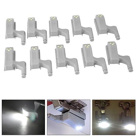 Flight Tracker Boruit 0.25w Led Cabinet Hinge Light For Kitchen Bedroom Cabinet Cupboard Closet Wardrobe Inner Hinge Led Sensor Night Light Lights & Lighting
