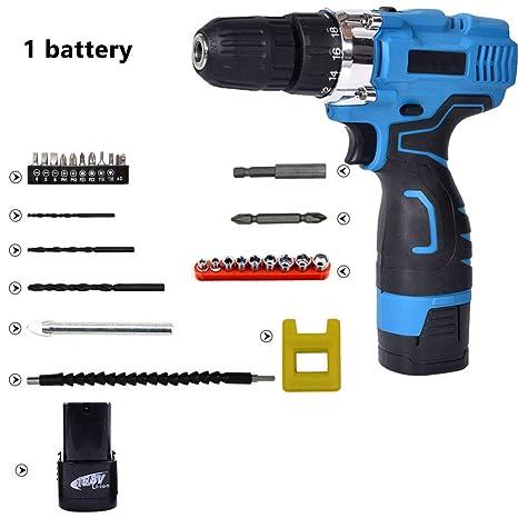 Amazon com: CAPTIANKN Cordless Drill Driver, 16 8v Battery