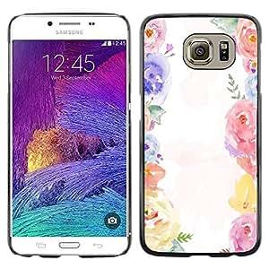 Dragon Case - FOR Samsung Galaxy S6 - affection and love - Caja protectora de pl??stico duro de la cubierta Dise?¡Ào Slim Fit