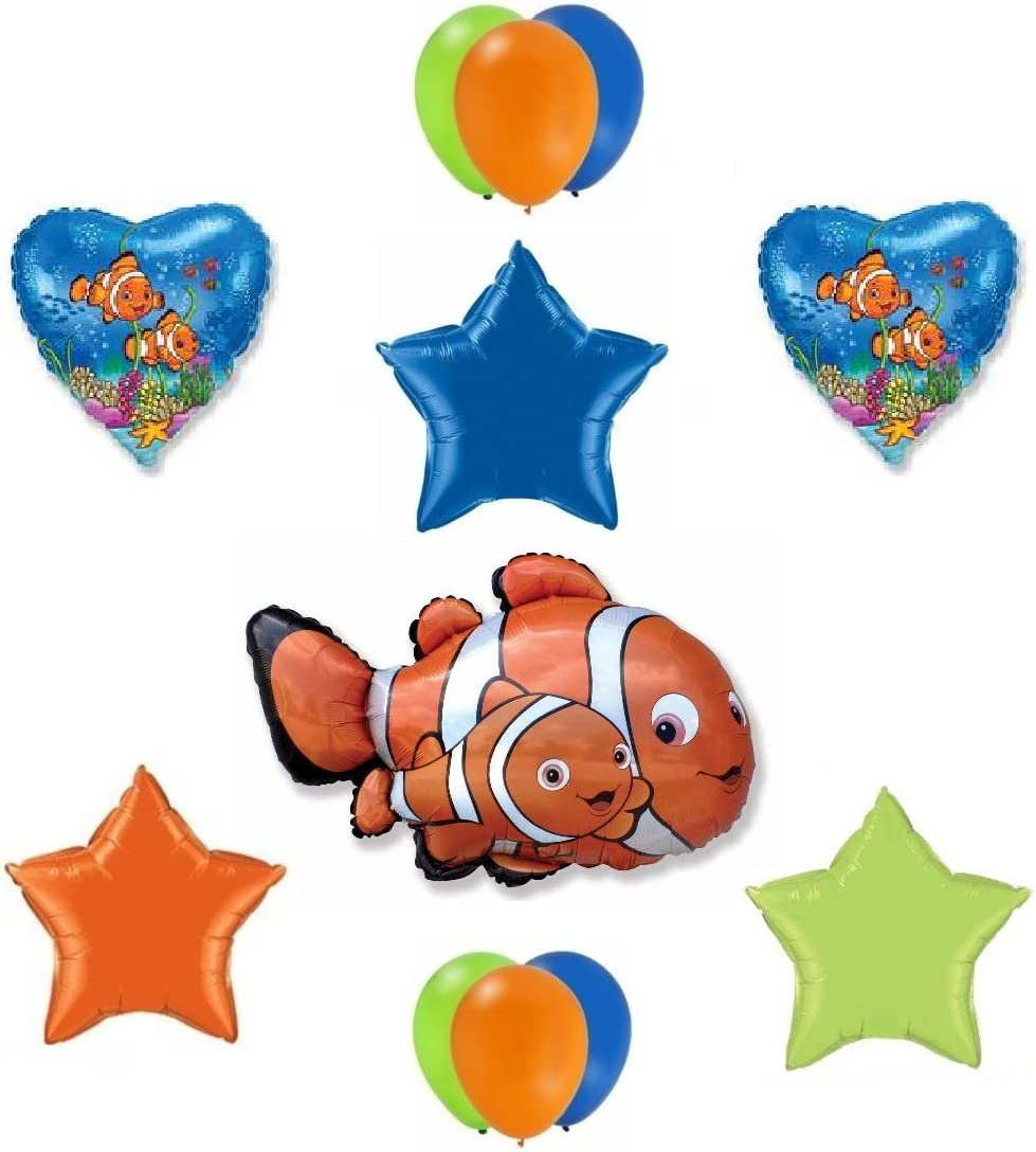 """12/"""" Latex Finding Dory Birthday Balloons Party Decoration Party Supplies 12 PCS"""
