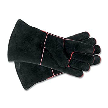 Amazon.com: Woodeze 5MM-A-12B Fireplace Gloves - 13 1 - 2 in ...