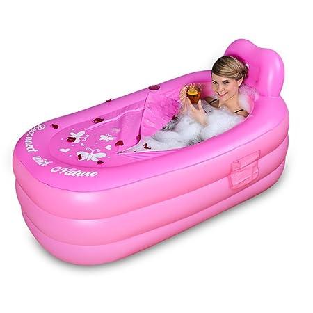 Bañeras con Jacuzzi Hinchable para Adultos Espesamiento ...