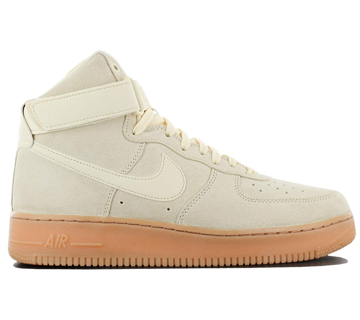 low priced a76ea c1682 Galleon - Nike Air Force 1 High 07 LV8 Suede Mens Shoes MuslinGum Medium  Brown Aa1118-100 (10.5 D(M) US)