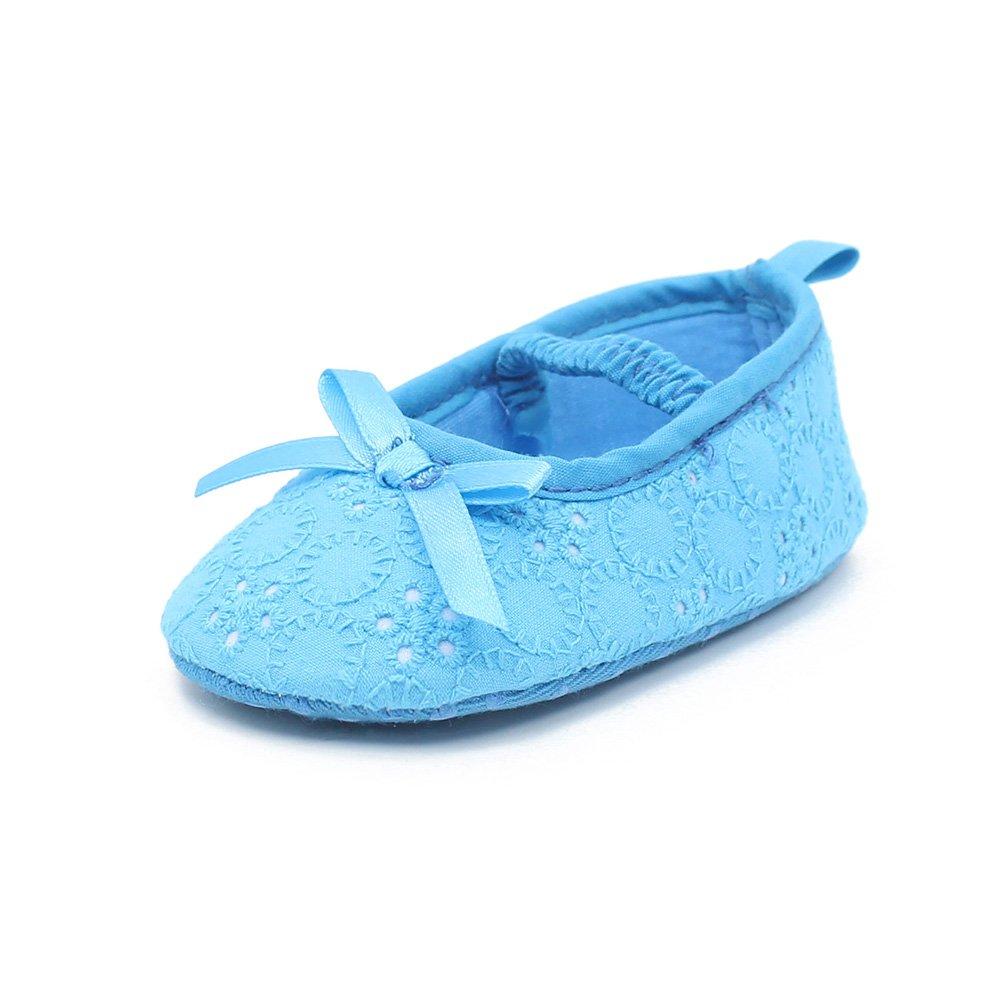 DELEBAO Babyschuhe Krabbelschuhe Weiche Sohle Schuhe Baby Kleinkind Solekleinkind Krippeschuhe f/ür M/ädchen