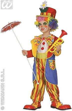 Déguisement clown enfant - 3 à 4 ans  Amazon.fr  Jeux et Jouets 5ef7d1ef30c