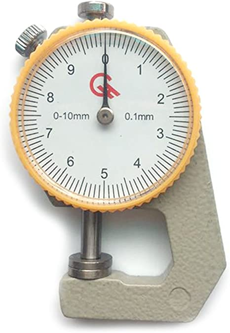 0-10mm Leather Thickness Metal Gauge Tester Measure Leathercraft Tool CraftSL