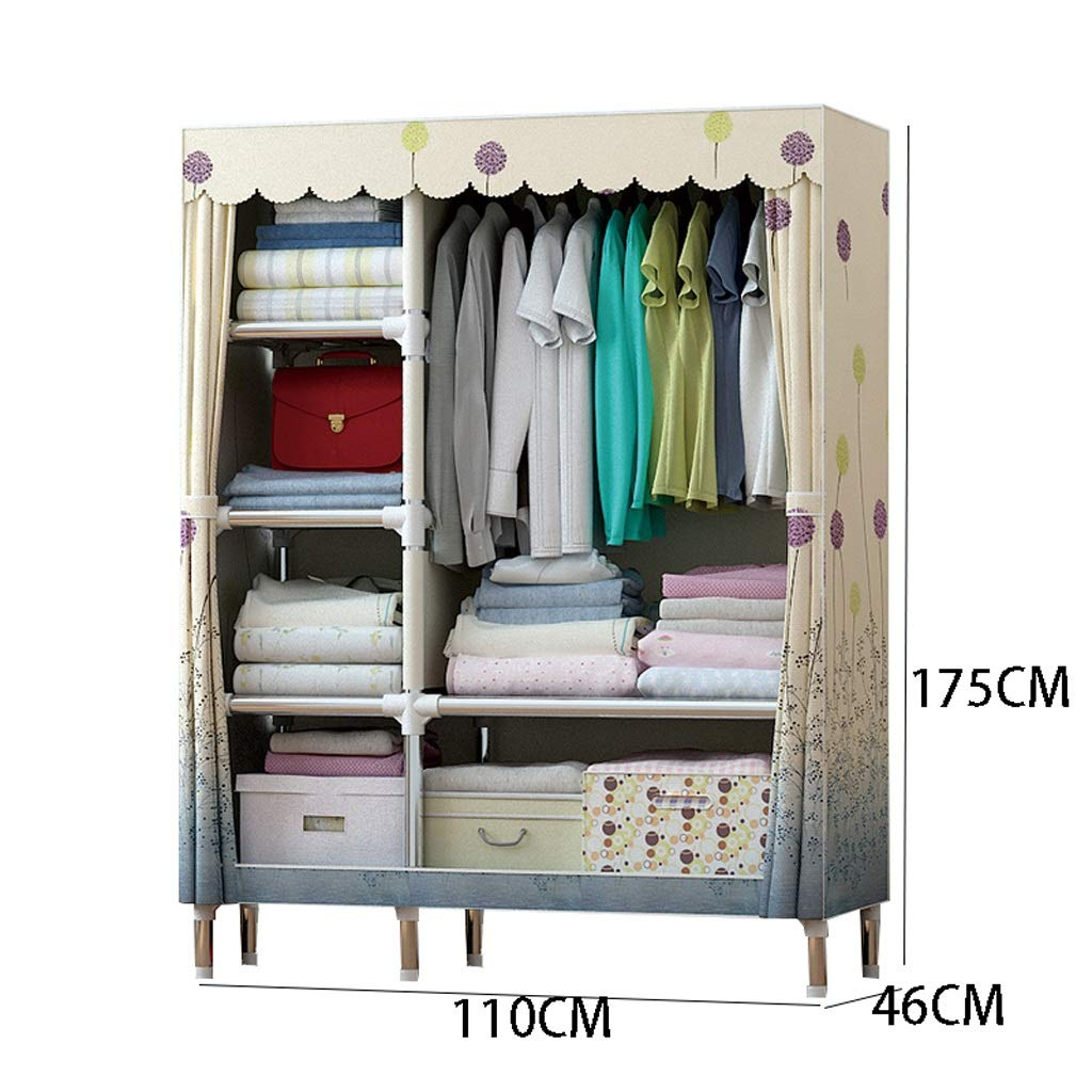 Amazon.com: WN - Cloth Wardrobe Hanger Coat Rack Fabric ...