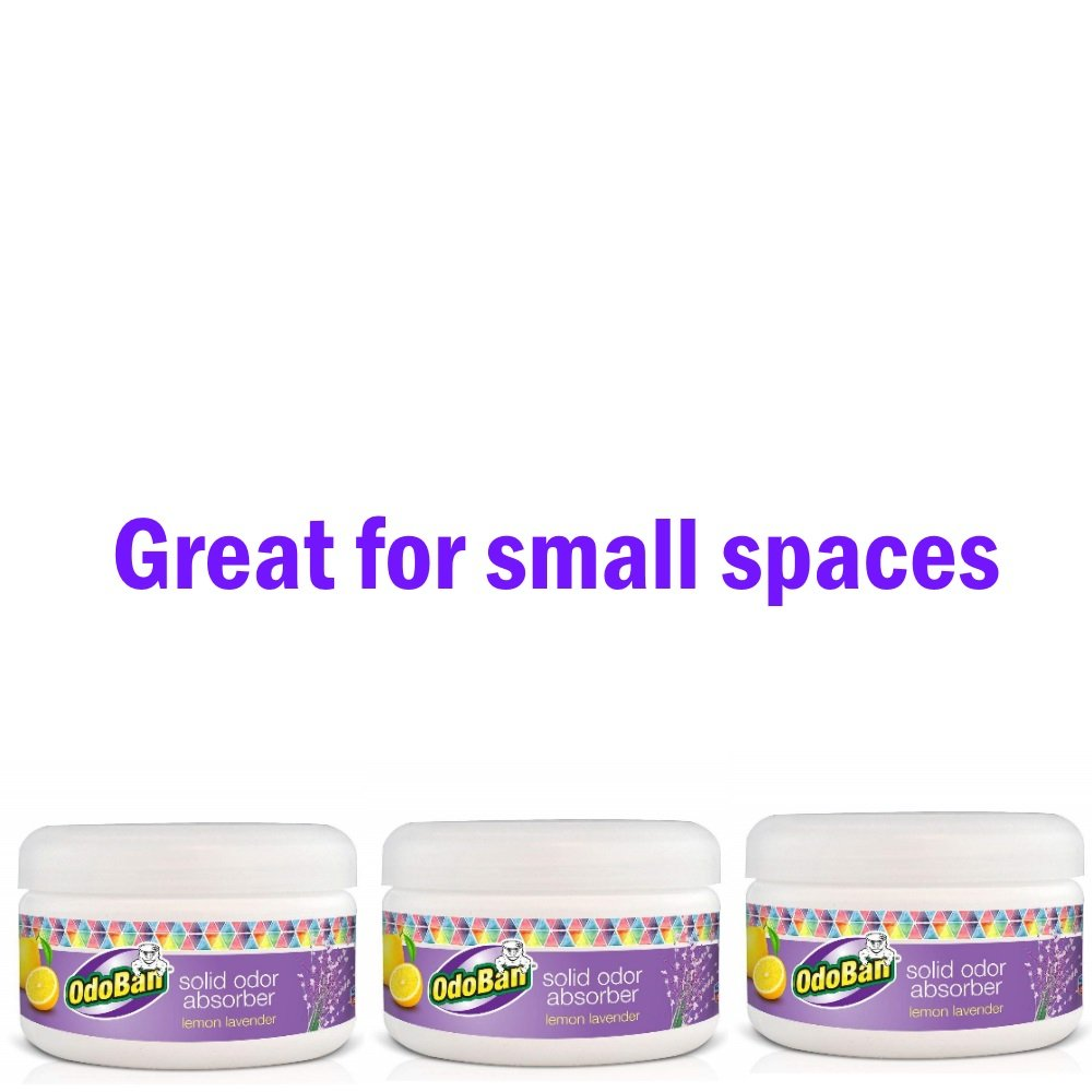 OdoBan Pet 8 oz. Lemon/Lavender Solid Odor Absorber (3 Pack)