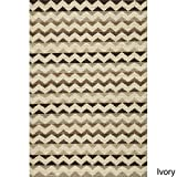 Momeni Rugs MESA0MES-5NAT80A0 Mesa Collection, 100% Wool Hand Woven Flatweave Transitional Area Rug, 8' x 10', Natural Brown