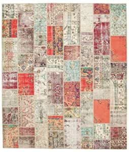 Alfombra patchwork 304x354 alfombra moderna hogar - Alfombras dormitorio amazon ...