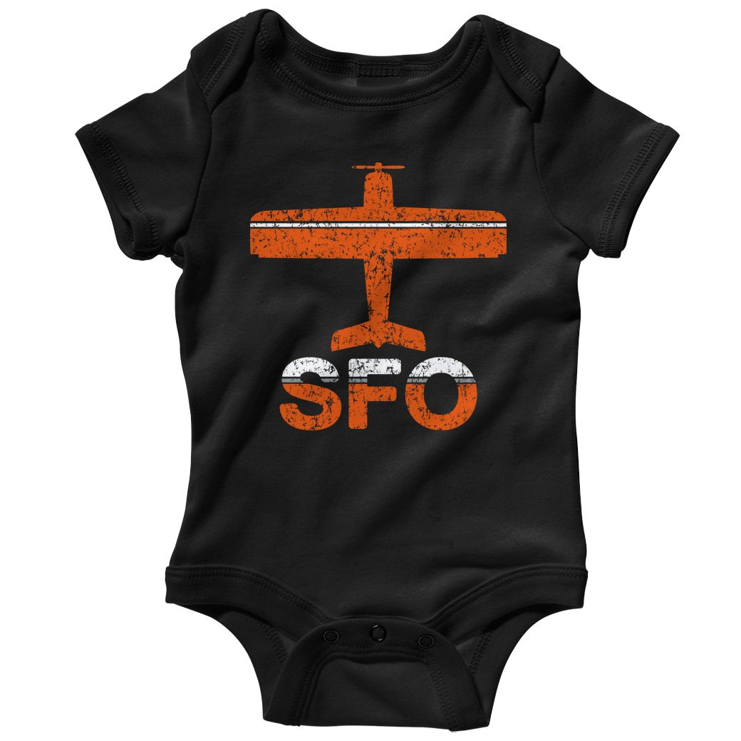Smash Transit Baby Fly San Francisco SFO Airport Creeper