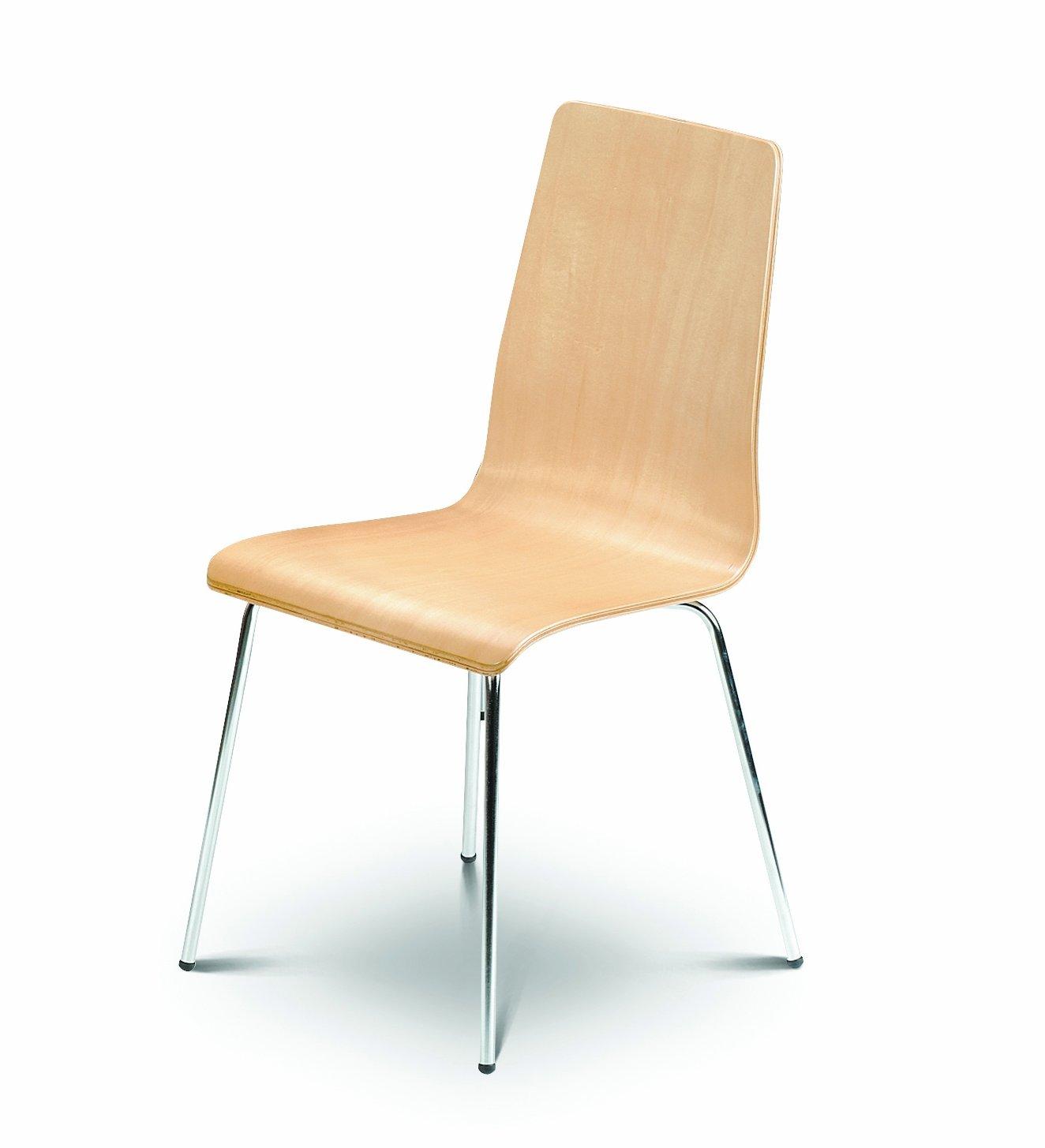 Julian Bowen Mandy Chairs Maple Set of 4 Chairs Amazon