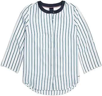 Tommy Hilfiger Women's Adaptive Magnetic Button Shirt Regular Fit