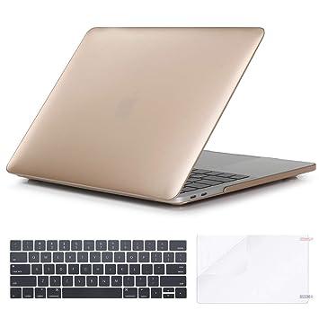 StMandy Estuche MacBook Pro 13 y MacBook Air 67 Estuche rígido de plástico Duro Recubierto de Goma Varios tamaños - Estuche rígido multifunción ...